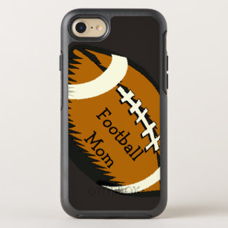 Football Mom Sports Brown OtterBox Symmetry iPhone 7 Case