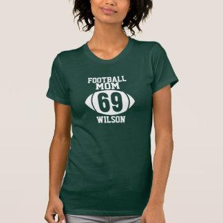 Football Mom T Shirt