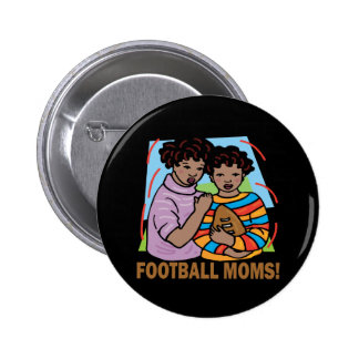 Football Moms Button
