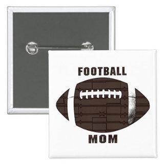 Football Mum Button