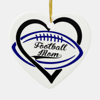 Football Mum Ornament