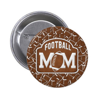 Football Mum Pins