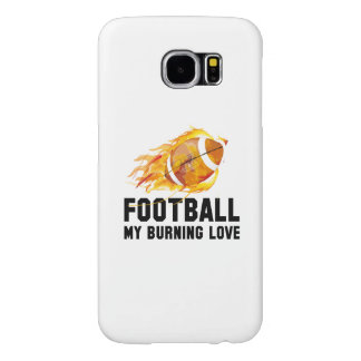 Football My Burning Love Samsung Galaxy S6 Cases