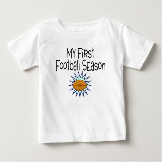 Football My First Football Season Football Baby T-Shirt