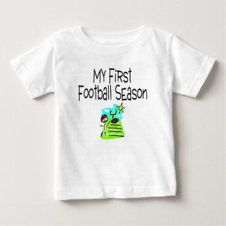 Football My First Football Season (Stick Figure) Baby T-Shirt