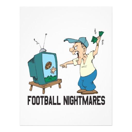Football Nightmares Custom Flyer
