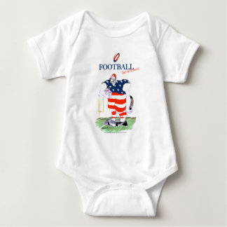 Football no prisoners, tony fernandes baby bodysuit