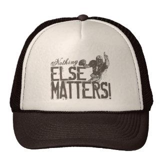 Football: Nothing Else Matters QB Trucker Hat
