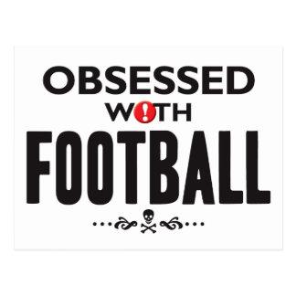 Football Obsessed Postcard