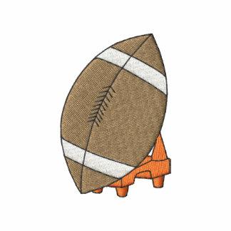 Football On Tee Embroidered Hoodie