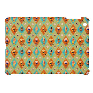 Football pattern cover for the iPad mini