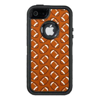 Football Pattern iPhone SE/5/5s Otterbox Case