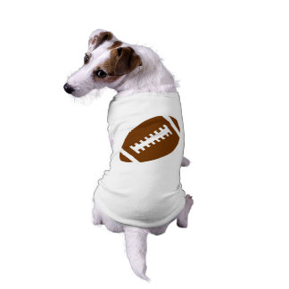 FOOTBALL Pets | Sports Football Graphic Sleeveless Dog Shirt
