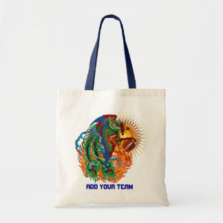 "Football Phoenix Bird ""Rise Again!"" Think you can? Budget Tote Bag"