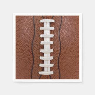 Football Photo Design Party Big Game Disposable Napkin