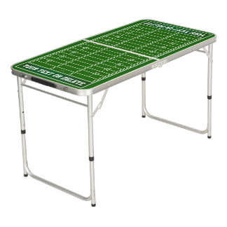 Football Ping Pond Table, Personalized Beer Pong Table