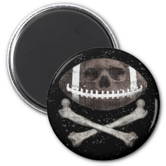 Football Pirate II 6 Cm Round Magnet