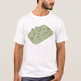 Football pitch T-Shirt