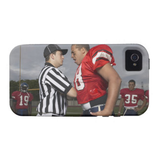 Football Player Arguing with Referee iPhone 4 Cover