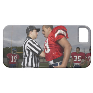 Football Player Arguing with Referee iPhone 5 Cover