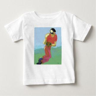 Football Player Art Baby T-Shirt