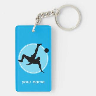 Football player key ring