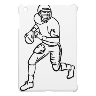 Football Player Outline iPad Mini Covers
