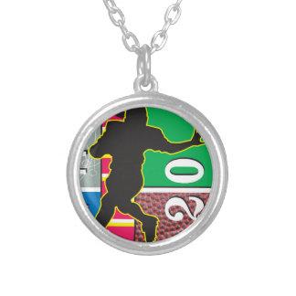 Football Power Running Design Necklace