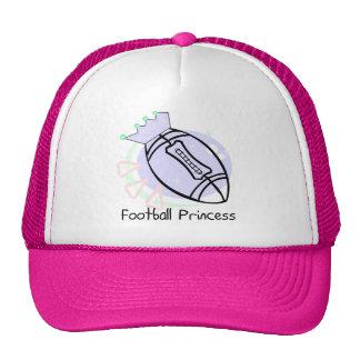 Football Princess T-shirts and Gifts Mesh Hat