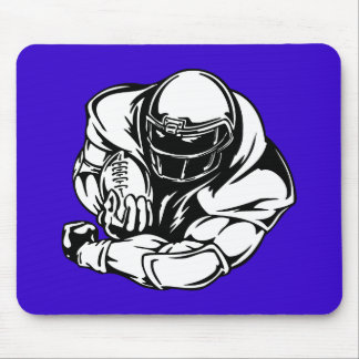 FOOTBALL QUARTERBACK LINEBACKER SPORTS ATHLETIC MOUSE PAD