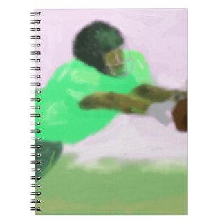Football Reach Art Notebook