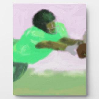 Football Reach Art Plaque