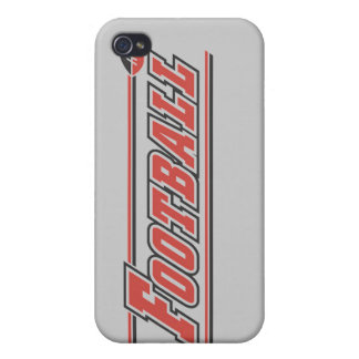 Football Red and Gifts iPhone 4 Cover