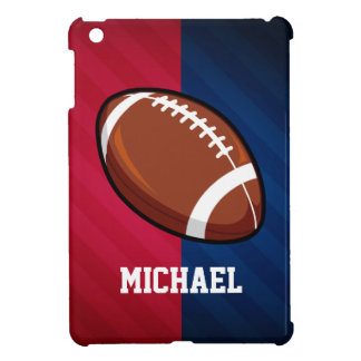 Football; Red, White, and Blue iPad Mini Cases