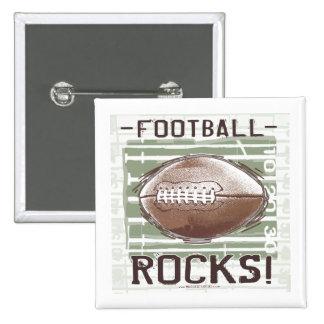 Football Rocks Button