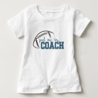 Football Romper Baby Bodysuit