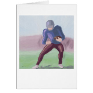 Football Rush Greeting Card