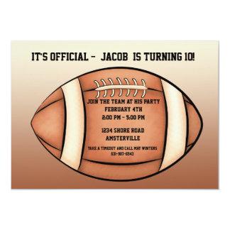 Football Season - Party Invitation