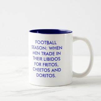 Football Season Two-Tone Mug
