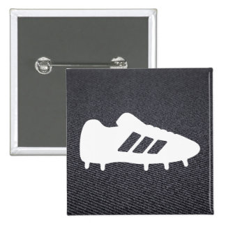 Football Shoes Pictograph 15 Cm Square Badge