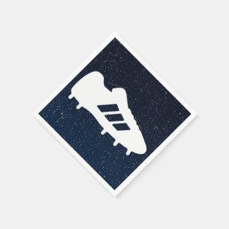 Football Shoes Pictograph Disposable Serviettes