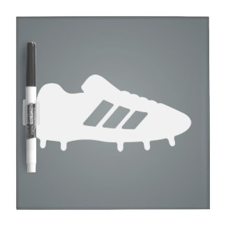 Football Shoes Pictograph Dry Erase Boards