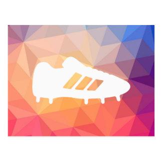Football Shoes Pictograph Postcard