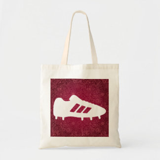 Football Shoes Pictograph Budget Tote Bag