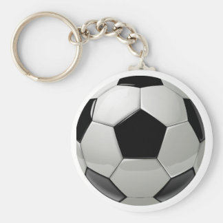 Football Soccer Ball Key Ring