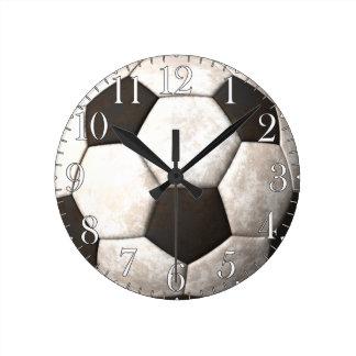 Football Soccer Ball Sports-lover's Clock