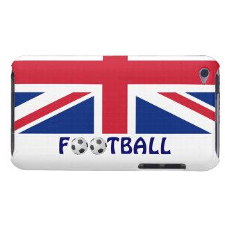Football/Soccer Balls-U.K. Flag iPod Touch Cases