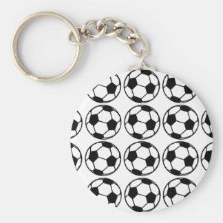 Football - Soccer Design Keychain