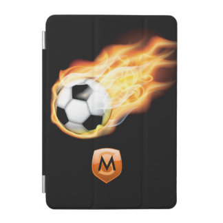 Football/Soccer Personalized Monogram iPad Mini Cover