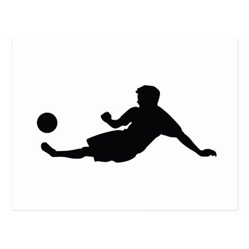 Football Soccer Post Cards